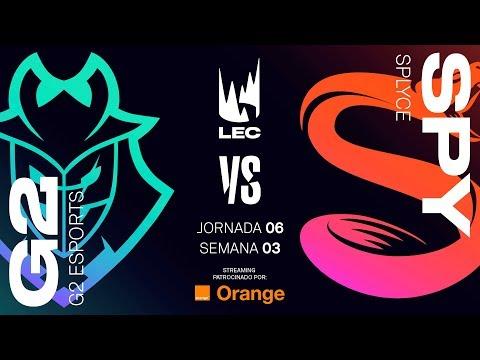 G2 ESPORTS vs SPLYCE | LEC | Spring Split [2019] League of Legends