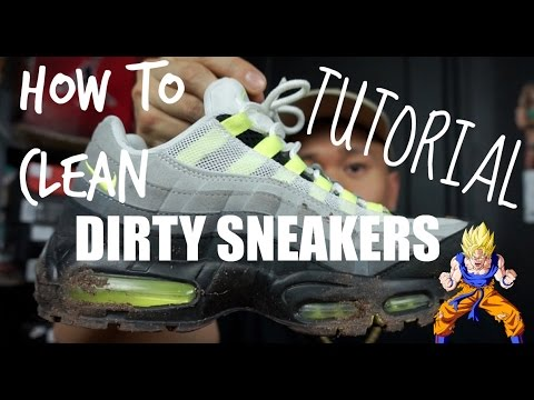 How to Clean Dirty Sneakers | SIMPLE AND EASY