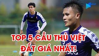 Top 5 cầu thủ Việt đắt giá nhất V.League 2020 | Quang Hải, Công Phượng không phải số 1 | NEXT SPORTS