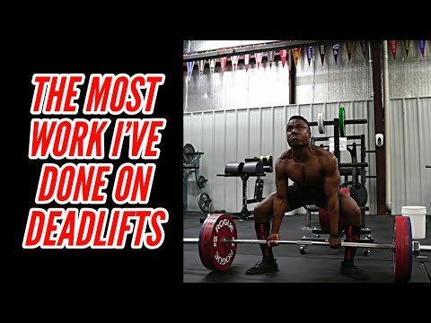 Smashing PRs On Bench & Building Volume On Deadlifts
