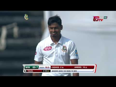 Taijul Islam's 6 Wickets Against Windies | 1st Test | Day 3 | Windies tour of Bangladesh 2018