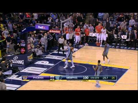 Phoenix Suns vs Memphis Grizzlies | January 11, 2015 | NBA 2014-15 Season