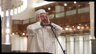 Diyanet İşleri Başkanı Erbaş, 15 Temmuz Gecesi İçin Millet Camisinde Sela Okudu
