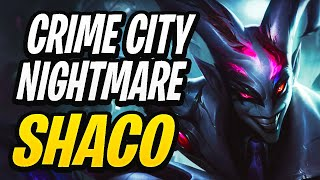 My first Crime City Shaco Game   Crime City Nightmare Shaco