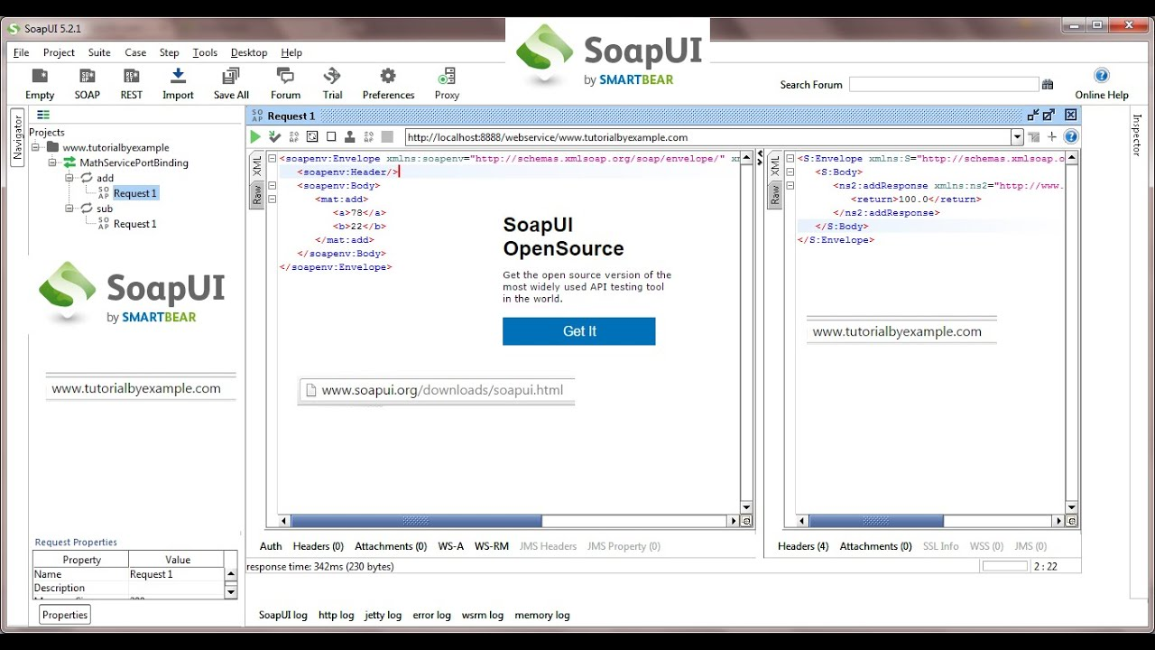 How to Test SOAP Web Services by SoapUI Tools, Web Services Client ...