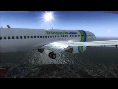TRANSAVIA ( Skiathos to Amsterdam )
