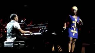 John Legend & India Arie - Good Morning - 8/10/09 - CMAC Canandaigua NY