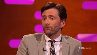 David Tennant Discusses His Statistically Unlikely Marriage - The Graham Norton Show