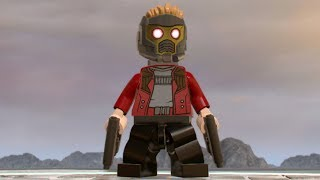 LEGO Marvel Super Heroes 2 - Star-Lord - Open World Free Roam Gameplay (PC HD) [1080p60FPS]