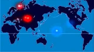 Создана интерактивная карта всех ядерных взрывов в истории