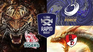 Global Rapid Rugby 2019 - South China Tigers v Asia Pacific Dragons & Western Force