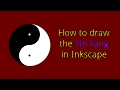 Inkscape Tutorial - Yin Yang Example