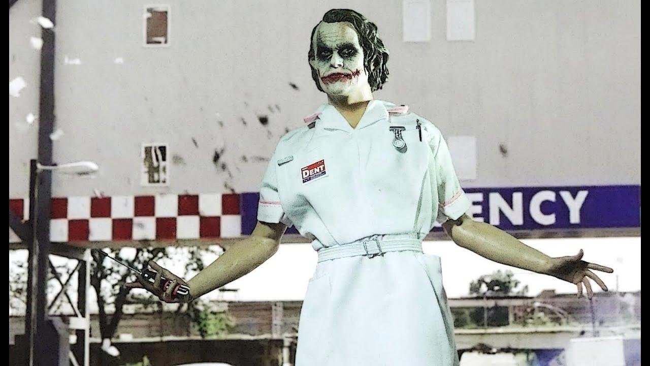 Nurse Joker The Dark Knight Hospital Scene Youtube