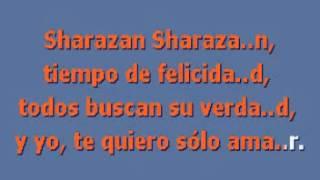 SHARAZAN   Al Bano y Romina Power  karaoke