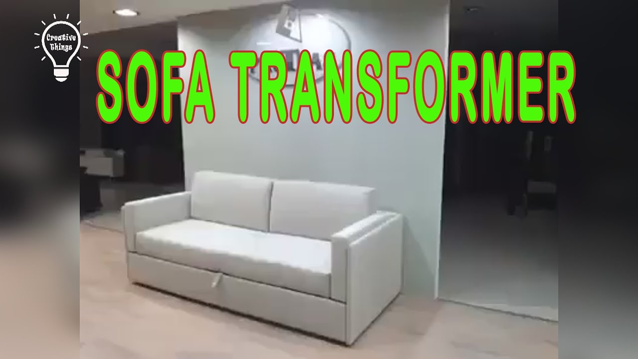 Creative Idea   Sofa Transformer, Multifunction.