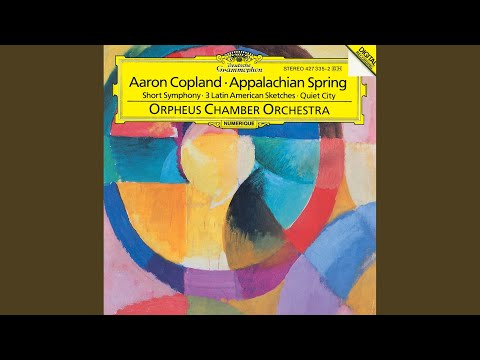 Copland: Three Latin American Sketches - 1. Estribillo (Bold, Sharply Accented)