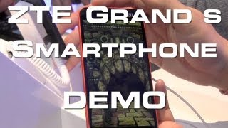 ZTE Grand S - 5 1080p Smartphone Hands On - CES 2013
