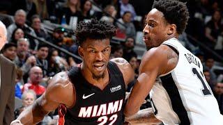 Miami Heat vs San Antonio Spurs Full Game Highlights | January 19, 2019-20 NBA Season