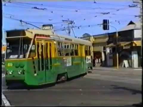 MELBOURNE TRAM DEWIREMENTS