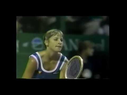 """Кристина Мария Эверт-Лойд """"Игрок Года WTA"""" 1981 года"""