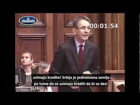 Saša Radulović uči SNS-ovce matematici