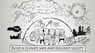 ⓚ Climate Change Adaptation Drawing Animation