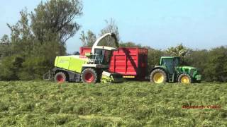 Silaging in Ireland in 2012.