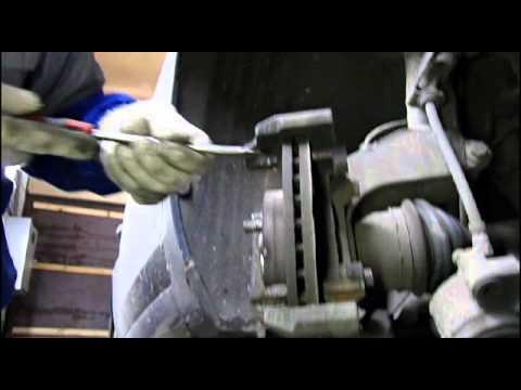 Форд фокус замена передних колодок
