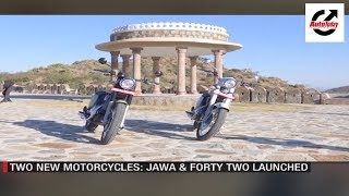 Iconic Jawa Motorcycles First Ride; Trans Canadian Expedition | AutoToday