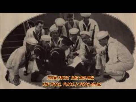 1920's Music Of The Peerless Quartet -- My Dream Of The Big Parade  @Pax41