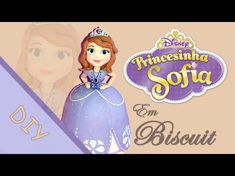Princesa Sofia em Biscuit - Vanessa Pereira