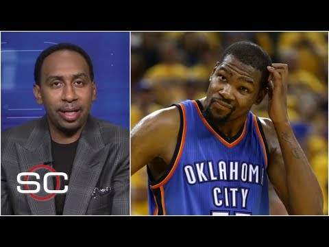 Stephen A Smith reacts to Kevin Durant joining Warriors  ESPN Archives