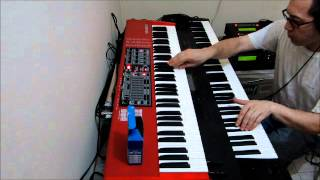 Vangelis Bladerunner Blues Live performance (cover)