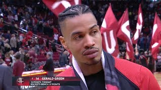 Gerald Green Postgame Interview - Blazers vs Rockets | Dec 11, 2018 | 2018-19 NBA Season