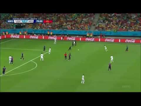 Robben amazing goal vs Spain in the World Cup 2014