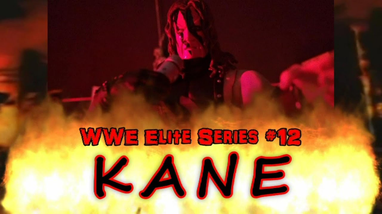 Download KANE WWE Elite Series #12 Inferno Match Stop Motion Action Figure Review