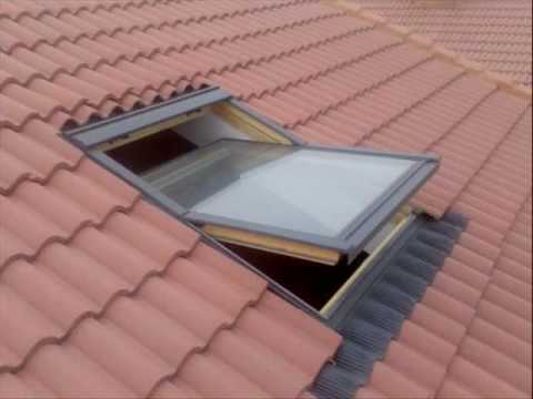 Instalacion de ventanas velux concepci n chile youtube for Costo velux 55x98