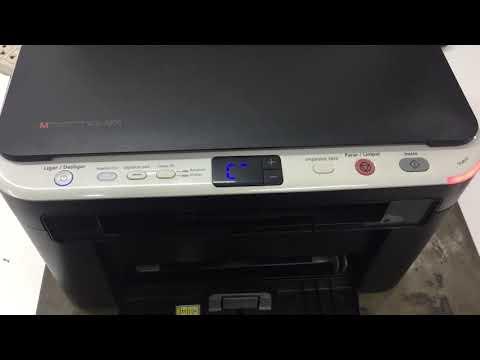 Reset Impressora Samsung SCX-3200 Luz Vermelha