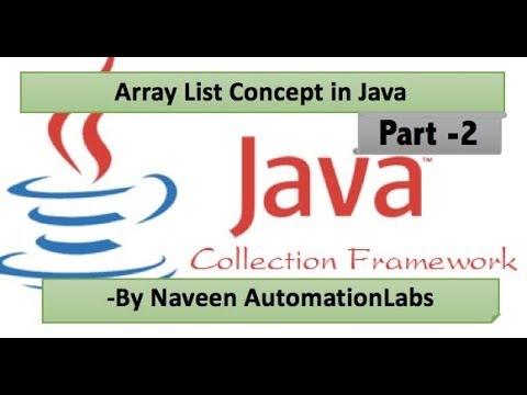 ArrayList: Java Collections Framework Tutorial Part 2