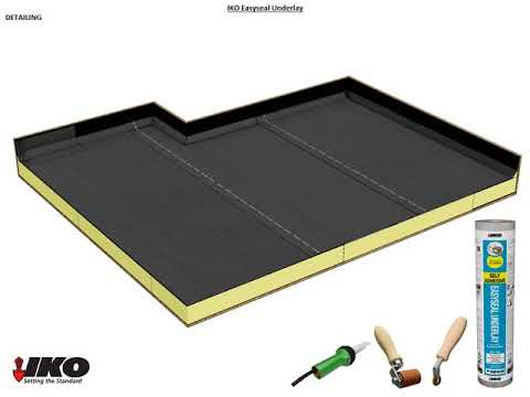 How To Install Our Self Adhesive Roofing Felt U2013 IKO Easyseal