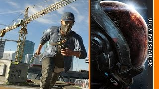 GS Times [DAILY]. Mass Effect: Andromeda, Watch Dogs 2, Battlefield 1