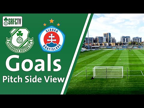 Pitch Side View | Goals v Slovan Bratislava  | 13 July 2021