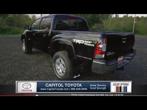 Toyota Tacoma Pick Up Truck Capitol Bay Area Dealership San Jose Sunnyvale Fremont