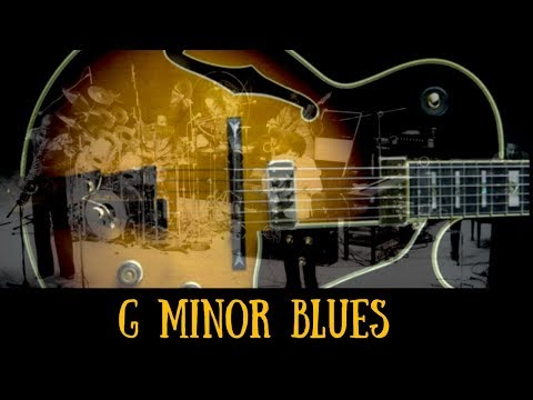 Soul Jazz Jam | Sexy Blues Guitar Backing Track (Gm)