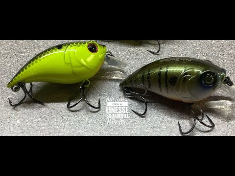 Northeast Bass Fishing - 6th Sense Curve Finesse Squarebill Review