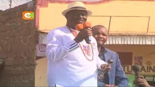 Raila Odinga aongoza vinara wa NASA kuomba kura Narok