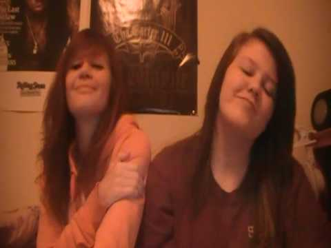 Sisters just doing the Sister Song by Barney And Friends xD