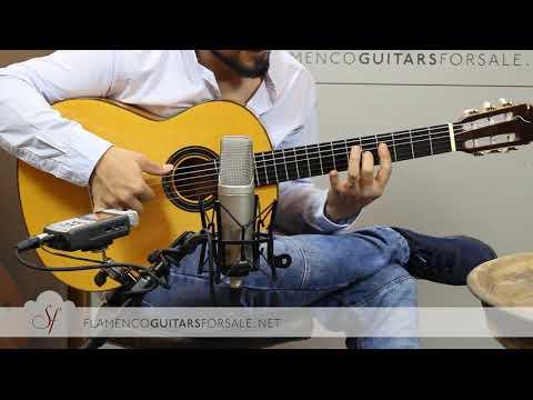 VIDEO TEST: Félix Manzanero 2002 flamenco guitar for sale