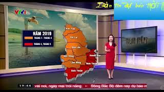 Bản tin dự báo thời tiết ngày 22/10/2018