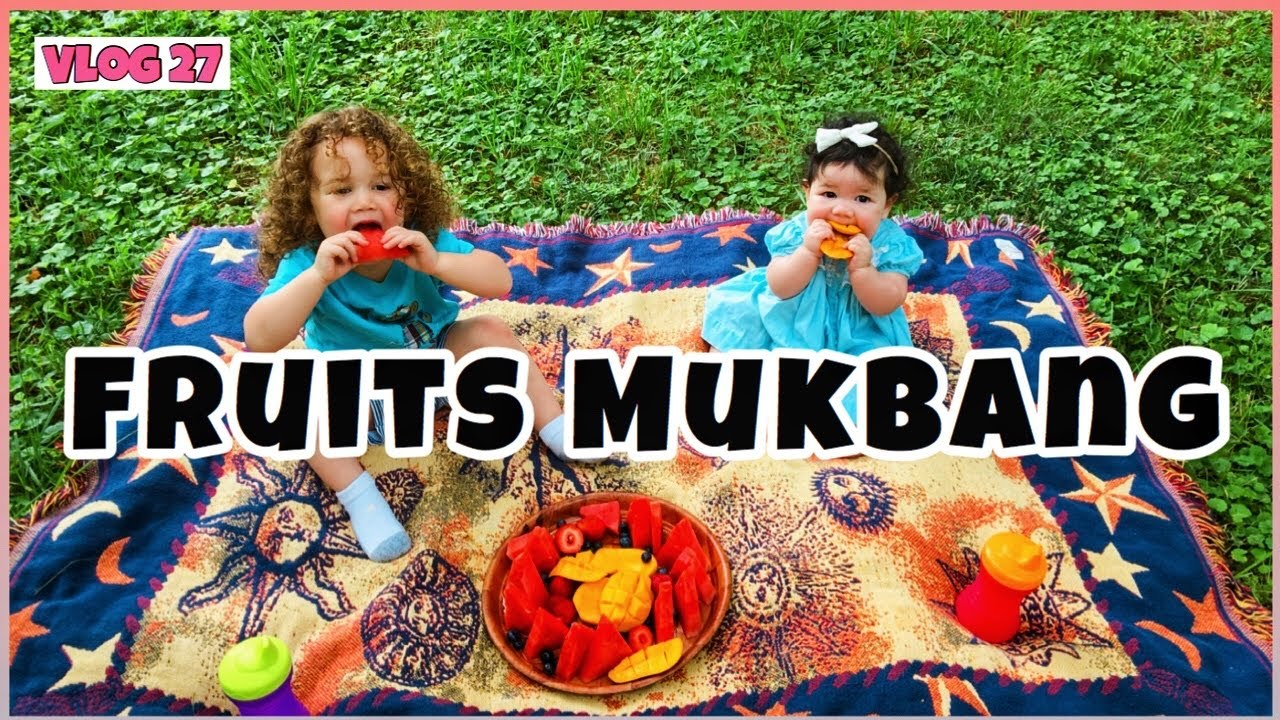 FRUITS MUKBANG | KIDS EATING FRUITS | FILIPINA MOM SA AMERICA | July 3, 2020